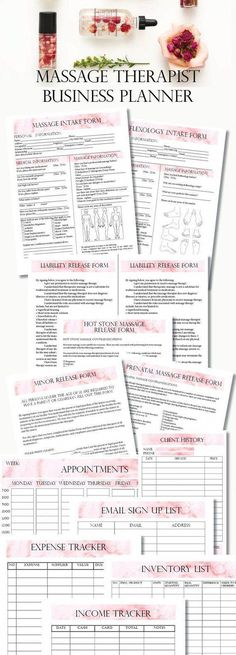 Editable Massage Therapist Business Planner, Massage Business, Massage Consent Forms, Massage Client Intake Form - Massage tips - Massage Tips, Massage Benefits, Prenatal Massage, Health Benefits, Massage Quotes, Massage Therapy Rooms, Massage Therapy Career, Massage Room Design, Massage Room Decor
