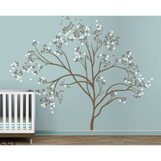 [ Studio Blossom Tree Extra Large Kids Wall Decals Couture Deco Home Decal Butterfly Amp Bird Birdcage Birds ] - Best Free Home Design Idea & Inspiration Large Wall Decals, Tree Decals, Kids Wall Decals, Nursery Wall Decals, Wall Stickers, Vinyl Decals, Tree Wall Murals, Tree Wall Art, 3d Wall