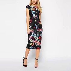Factory Direct Shipping Shipping Times: 5 - 15 Days Gender: Women Waistline: Natural Fabric Type: Broadcloth Dresses Length: Mid-Calf Season: Summer Silhouette: Sheath Neckline: O-Neck Sleeve Length: