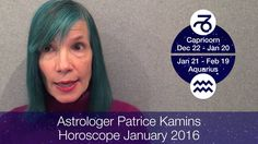 Horoscope January 2016 Capricorn Aquarius