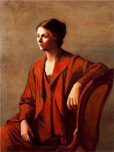 Olga ~ Pablo Picasso (1923)