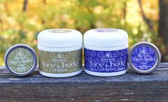 Skin Salvy Face & Body Creme - for all over dry skin - made with organic jojoba, USA beeswax, lavender essential oil optional. Handcrafted in the USA.