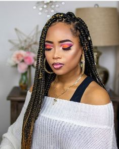with weave hairstyles hairstyles cornrows hairstyles for 8 year olds hairstyles wedding hairstyles 2019 pictures hairstyles over 40 hairstyles guys elegant hairstyles New Natural Hairstyles, Ethnic Hairstyles, Black Women Hairstyles, Blonde Braids, Braids For Black Hair, Natural Braid Styles, Long Hair Styles, Side Braid Hairstyles, Hairstyles 2018