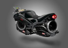 Triumph Hover-Bike Concept Artwork by  on @deviantART