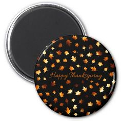 Thanksgiving Autumn Leaves Magnets