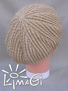 Striped crochet slouchy beret pattern Crochet hat patterns Crochet beret pattern Crochet beanie patterns crochet beret patterns slouch hat