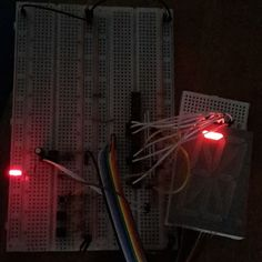 Just playing around with #74HC595 and #NE555 to make a little animation on the 16 segment #display #LEDs #Arduino #RaspberryPi #Simplicity #segmentedDisplay #electronics #engineering #DIY #project #EEPblog by eepblog