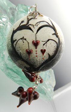 Glassactcc Heart Tree Handmade Lampworked Glass Beads Jewelry SRA | eBay