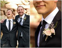 Blush mountain wedding at Louland Falls | Groom Portrait idea | Logan Walker Photography - see more at http;//fabyoubliss.com