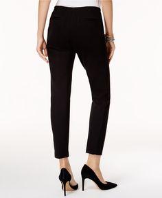 Alfani Modern Skinny Pont� Pants, Created for Macy's - Pants - Women - Macy's