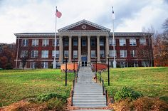Bluefield College in Virginia - Looks like it was taken some time ago...