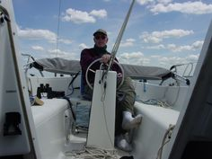The weather was cool, but sailing was great.
