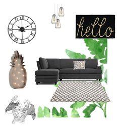"""Kamilla's homestyle 3"" by szobota-kamilla on Polyvore featuring interior, interiors, interior design, home, home decor, interior decorating and Dot & Bo"