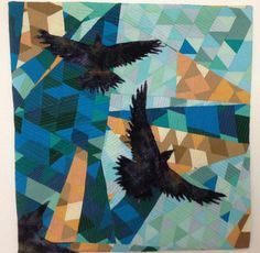 CROWS, BLACK BIRDS AND RAVENS QUILT............PC.......................Home - FrimART - How ART you?