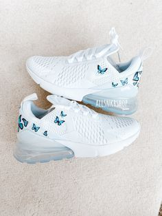 Cute Nike Shoes, Cute Sneakers, Nike Air Shoes, Shoes Sneakers, Cute Running Shoes, Nike Shoes Blue, Air Max Sneakers, Jordan Shoes Girls, Girls Shoes
