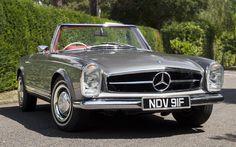 Mercedes SL Pagoda W113