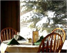 How about a romantic winter weekend at The Broad Axe Lodge in Sula, #Montana?