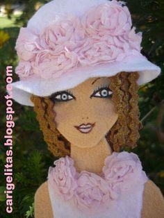 Doll Crafts, Cute Crafts, Felt Wreath, Felt Brooch, Fabric Jewelry, Fairy Dolls, My Scrapbook, Felt Dolls, Felt Ornaments
