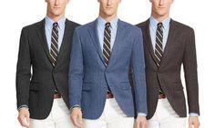Renoir Mens Classic-Fit Wool Blazer for $65 http://sylsdeals.com/renoir-mens-classic-fit-wool-blazer-65/