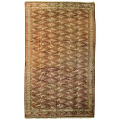 Vintage Turkoman (Turkmen) Carpet   From a unique collection of antique and modern central asian rugs at https://www.1stdibs.com/furniture/rugs-carpets/central-asian-rugs/