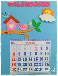 Calendário Classroom Charts, Classroom Calendar, Classroom Board, Classroom Themes, Diy Home Crafts, Holiday Crafts, Crafts For Kids, Preschool Colors, Preschool Activities