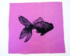 screen printed fish