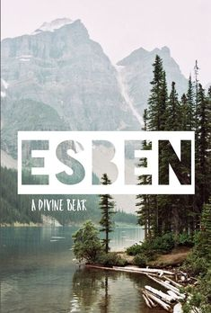 Esben was bedeutet: göttlicher Bär skandinavische Namen Jungen-Babynamen E