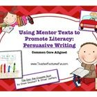 Using a popular new picture book (The Day the Crayons Quit by Drew Daywalt and Oliver Jeffers), this unit targets persuasive writing.  Geared towar...