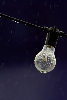 rain and electricity...not the best friends
