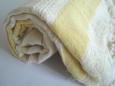 Turkish Bath and Beach Towel Stylish Peshtemal by TheAnatolian, $29.00