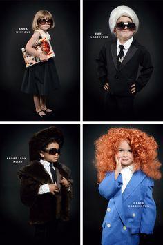 Homemade Halloween Fashion Icons