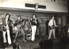 The Twisters at Sweetwater Cafe in Redondo Beach c 1980's.