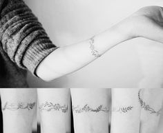 bracelet tattoo from @soltattoo on instagram