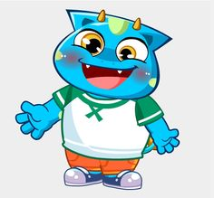 Pili, one of the characters from ALO7's curriculum. #ALO7English