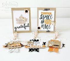 Project Life Seasonal Snapshot cards and gift tags ~ Sarah Sagert