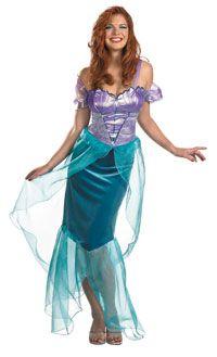 Adult Deluxe Ariel Mermaid Costume