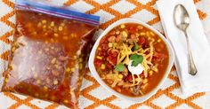 This Instant Pot Taco Soup is an addictive meal in part because it's as easy to make as it packed with savory Mexican flavor.