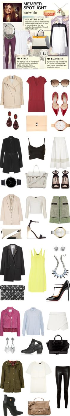 """Member Spotlight: Loeswhite"" by polyvore ❤ liked on Polyvore"