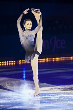 Sasha Cohen - US Figure Skater, during the Art on Ice show 2011 in Lausanne, Switzerland