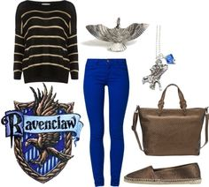 """Ravenclaw Harry Potter"" by jboothyy on Polyvore"