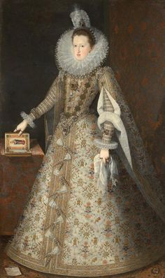 Margarida of Austria, Queen Consort of Portugal, Spain and Two sicilies, Wife of Filipe II of Portugal (III of Spain), 1605