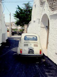 Alberobello, Italy Fiat 500