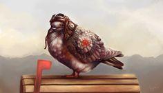 pigeon illustration - Hledat Googlem