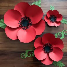 SVG DXF PNG Petal 60 Poppy Paper Flowers Template Cricut Silhouette Cutting Machines Ready Wedding and Event Decor and Paper Flower Backdrop - DIY Blumen Paper Flower Backdrop, Giant Paper Flowers, Diy Flowers, Flower Crafts, Flower Petals, Simple Paper Flower, Wedding Flowers, Flower Svg, Bright Flowers
