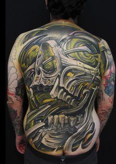 Skull bio by Javier Obregon