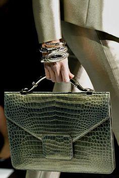 b0dc085e66545 Armani Prive  leather handbags tote Bolso Mochila