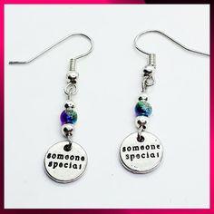 Someone special earrings Jewelry Gifts, Jewellery, Drop Earrings, Personalized Items, Jewels, Jewelry Shop, Schmuck, Drop Earring, Jewelery