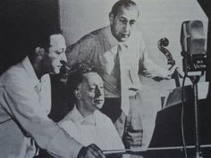 Heifetz, Rubinstein and Piatigorsky: Three amazing musicians