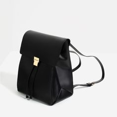 BACKPACK WITH METALLIC FASTENING-BAGS-WOMAN-COLLECTION SS/17 | ZARA United States