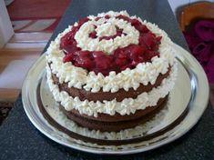 tento recept som si upravila a robím ho ako tortu Cheesecake Brownies, Vanilla Cake, Tiramisu, Ethnic Recipes, Food, Essen, Meals, Tiramisu Cake, Yemek
